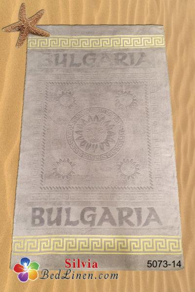 Плажна кърпа България - сива